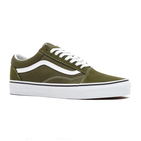 8361ae3eb0 Vans old skool green sneaker shoes winter moss new